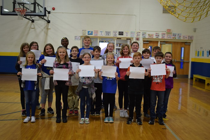Principal's Pride - All A's, Fifth Grade